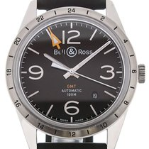 Bell & Ross Vintage 42 Automatic GMT BR 123-93SP GMT
