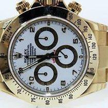 Rolex Mens 18k Gold 116528 Chronograph Daytona Watch Box &...