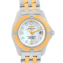 Breitling Windrider Calisto Steel Yellow Gold Diamond Ladies...
