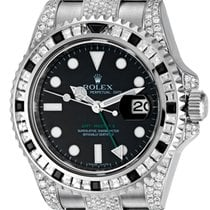 Rolex GMT-Master ll Steel Diamond Set 116710LN