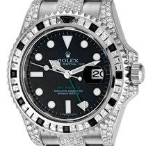 Ρολεξ (Rolex) Rolex GMT-Master ll Steel Diamond Set 116710LN