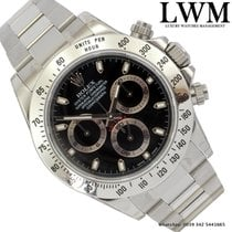 Rolex Daytona 116520 black dial RRR Full Set 2009's