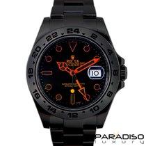 Rolex Explorer II 216570 BLACK VENOM LIMITED EDITION /35 DLC PVD