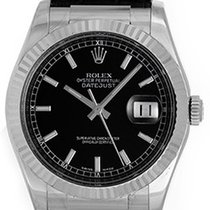 Rolex Datejust 18k White Gold Men's Watch 116139