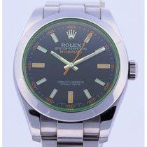 Rolex Milgauss 116400GV Green Glass