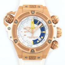 Hublot King Power Oceanographic Monaco Rose Gold Watch Ref....