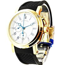 Breguet 5827ba/12/5zu Marine II Chronograph - Yellow Gold on...