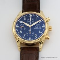 IWC Rose Gold Pilot Chronograph
