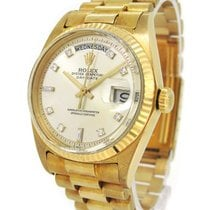 Rolex Oyster Perpetual 18K Gold Day Date 1803A YG, with...