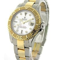 Rolex Used 168623 Yacht-Master 2-Tone Mid Size - Mother of...