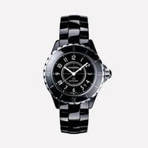 Chanel Unisex H0685 J12 Automatic Ceramic Black Dial Watch