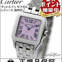 Cartier  【カルティエ】サントス ドゥ モワゼル レディース 腕時計W2510002 クォーツ パープル ステンレス...