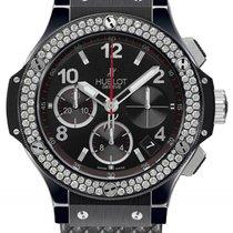 Hublot Big Bang 41mm Diamond Chronograph Black Ceramic