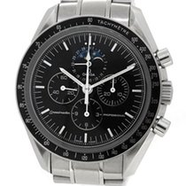 Omega Speedmaster Professional, Moon Phase Glass Back w Paper