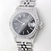 Rolex Lady-Date Datejust 26mm STAHL AUTOMATIK DIAMANTEN DAMENUHR