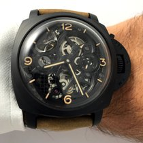 Panerai Luminor 1950 Tourbillon GMT Ceramica - Lo Scienziato -...
