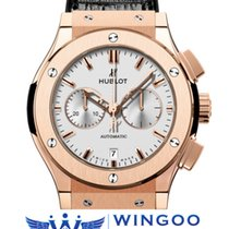 Hublot - Classic Fusion Chronograph King Gold Opalin Ref....