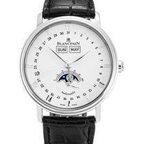 Blancpain Men's 6654-1127-55B Villeret Moonphase Watch