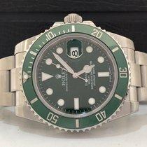 Rolex Submariner Green Hulk 2015 Impecavel Na Garantia