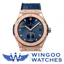 Hublot CLASSIC FUSION POWER RESERVE KING GOLD BLUE Ref....
