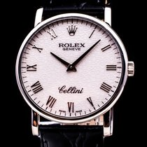 Rolex Cellini 18Kt. Weissgold  Handaufzug Hochfeine Herrenuhr