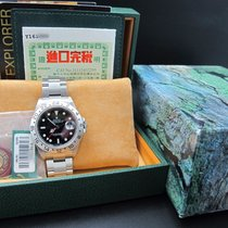 Rolex EXPLORER 2 16570 Black Dial with Box and Paper