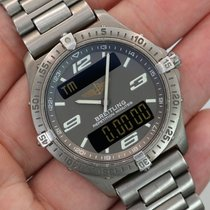 Breitling Aerospace Repetition Minutes Titanium Grey Dial 40mm...