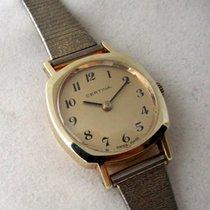 Certina 14ct rare vintage golden model, serviced