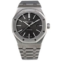 Audemars Piguet AP Royal Oak 41 Stainless Steel Black Dial