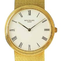 Patek Philippe 3954J Vintage Calatrava 3954J - Yellow Gold on...