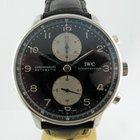 IWC Portoghese Chronograph ,Nero, Black