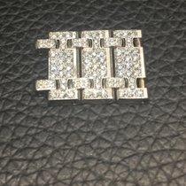 Audemars Piguet 3 links 18k white gold and diamonds for Royal...