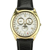Zenith Or 18ct GMT Phase de lune