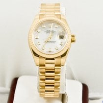 Rolex Ladys Newstyle President 179178 Rolex MOP Diamond Dial