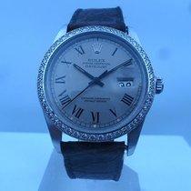 Rolex vintage 1982 datejust steel with after market diamonds...