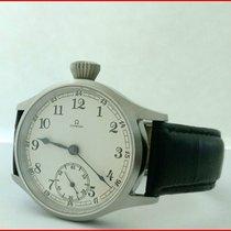 Omega WWII Era Omega Cal.38.5LT.1 Steel 15J 43mm 24H Dial...