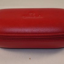 Omega Uhrenbox Watch Box Case Rare Reise Etui