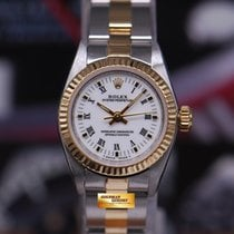 Rolex Oyster Perpetual 26mm Ladies Half-gold 67193 (mint)