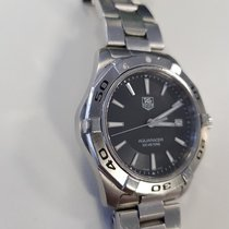 TAG Heuer Aquaracer 300M Steel 2012 Black Dial 45.2mm