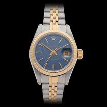 Rolex Datejust Stainless Steel & 18k Yellow Gold Ladies 69173