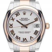 Rolex Datejust Medium Stahl Gelbgold Automatik Armband Oyster...