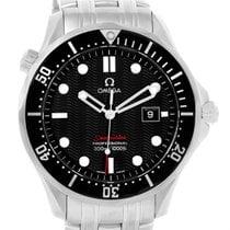 Omega Seamaster 300m Black Dial Steel Mens Watch 212.30.41.61....