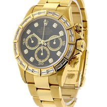 Rolex Used 16528_after_market_bezel Yellow Gold Daytona with...