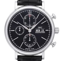 IWC Portofino Chronograph IW391008 Deutsche Papiere