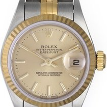 Rolex Ladies Datejust 2-tone Watch 79173 Champagne Dial