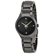 Rado Ladies R27059712 True Black Dial Quartz Watch