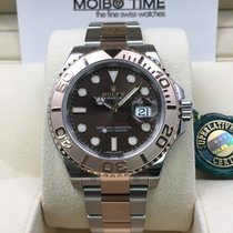 Rolex Yacht-Master Everose Gold Steel Two-Tone Choco brown dial