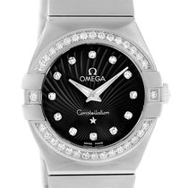 Omega Constellation 27mm Diamond Watch 123.15.27.60.51.001 Unworn