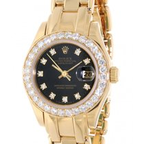 Rolex Pearlmaster 69298 Yellow Gold, Diamonds, 29mm