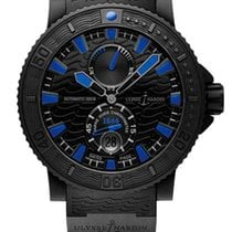 Ulysse Nardin Diver Black Sea Stainless Steel Men's Watch